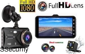 Վիդեոռեգիստրատոր Full HD 2 Camera Ausek 4J - 4