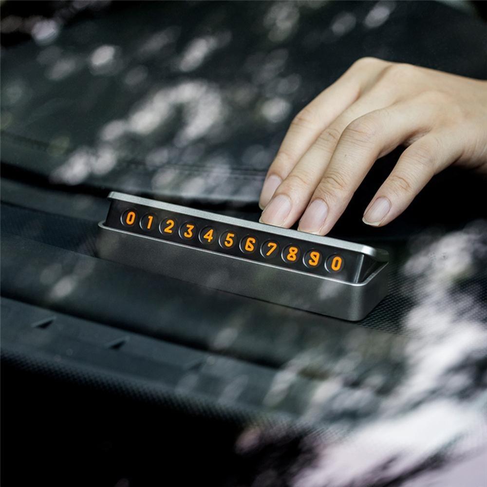 Ավտո Հեռախոսահամարի Display - 1